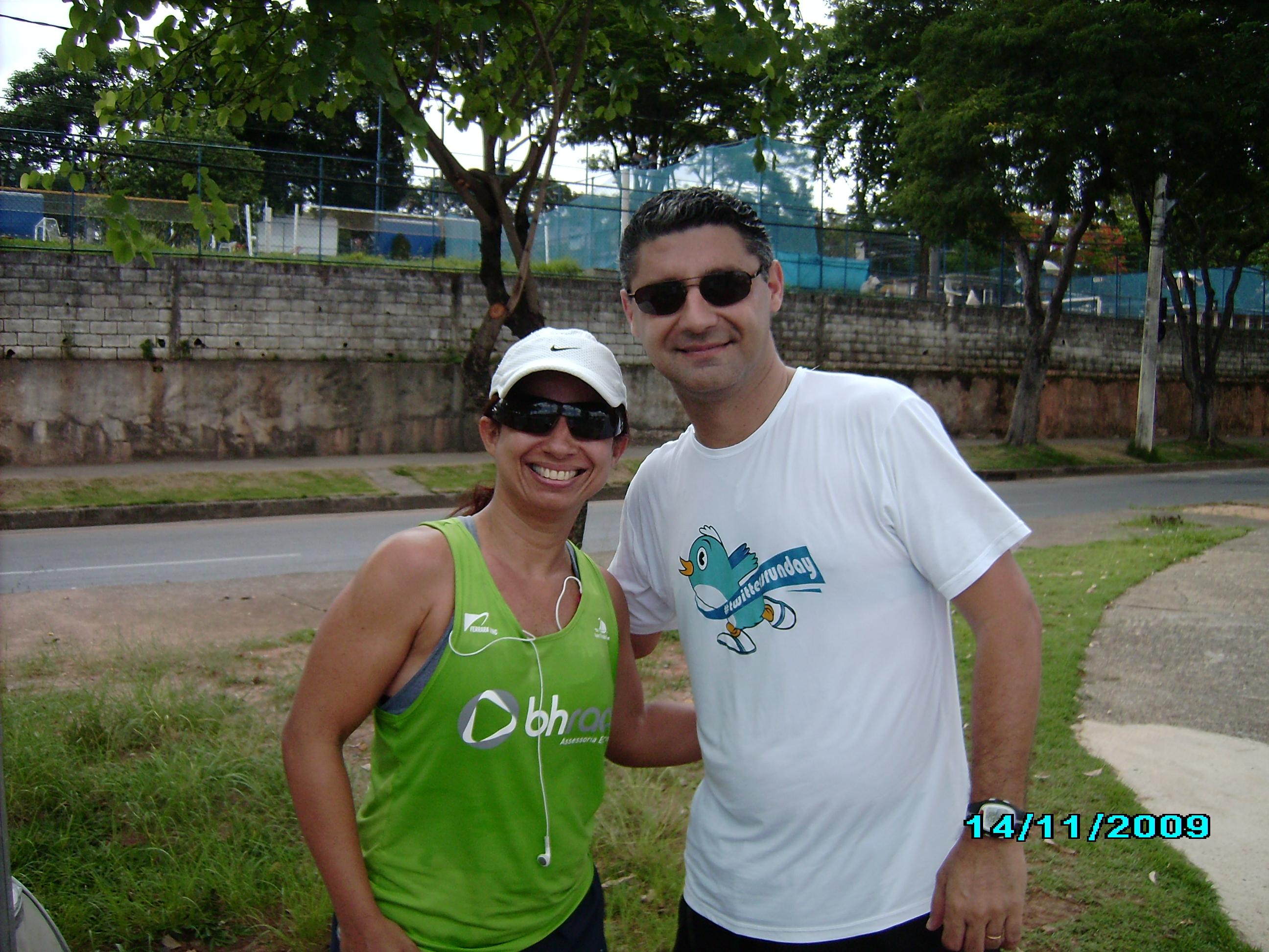Eu e corredora Érica