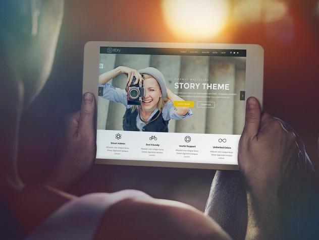 iPad mockup 1 632x476 - 5 mockups device gratuit pour UX designer