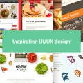 Inspiration UI autour des applications mobile food