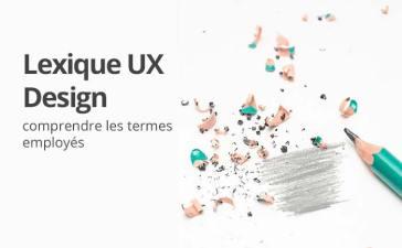 Le lexique de l'ux designer
