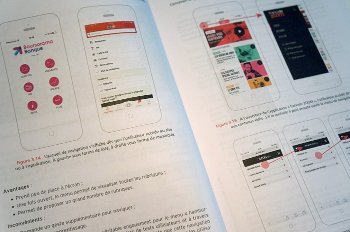 Livre autour de l'UX design