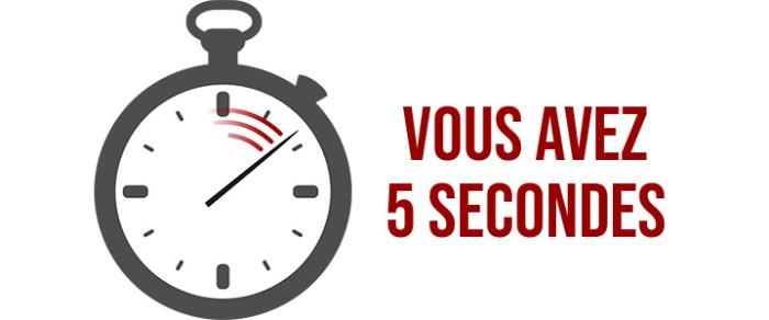 secondes 5 700x292 - Capter les premières impressions avec le test des 5 secondes