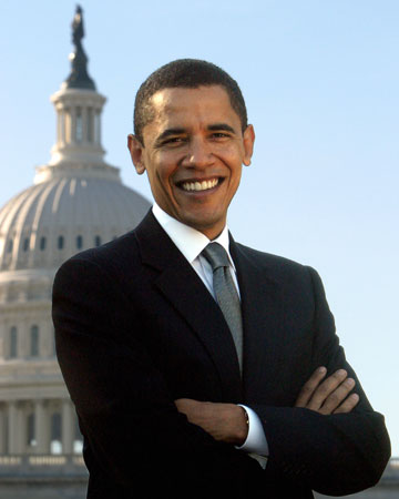 Barack Obama- President elect of the USA