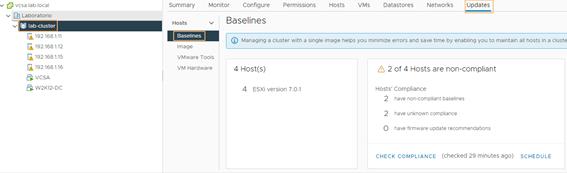 cluster baseline update 2