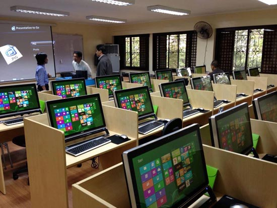 digital education in Vibe PNU
