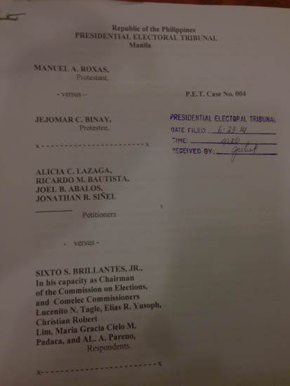 sc petition on brillantes