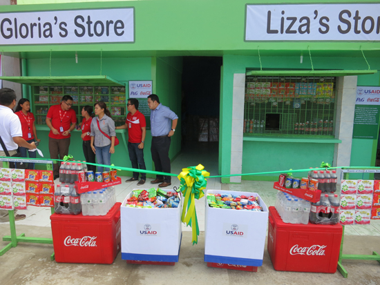 Hope Store supplied with P&G and Coke Products