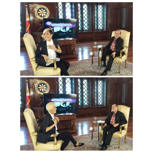 vice ganda with Pnoy