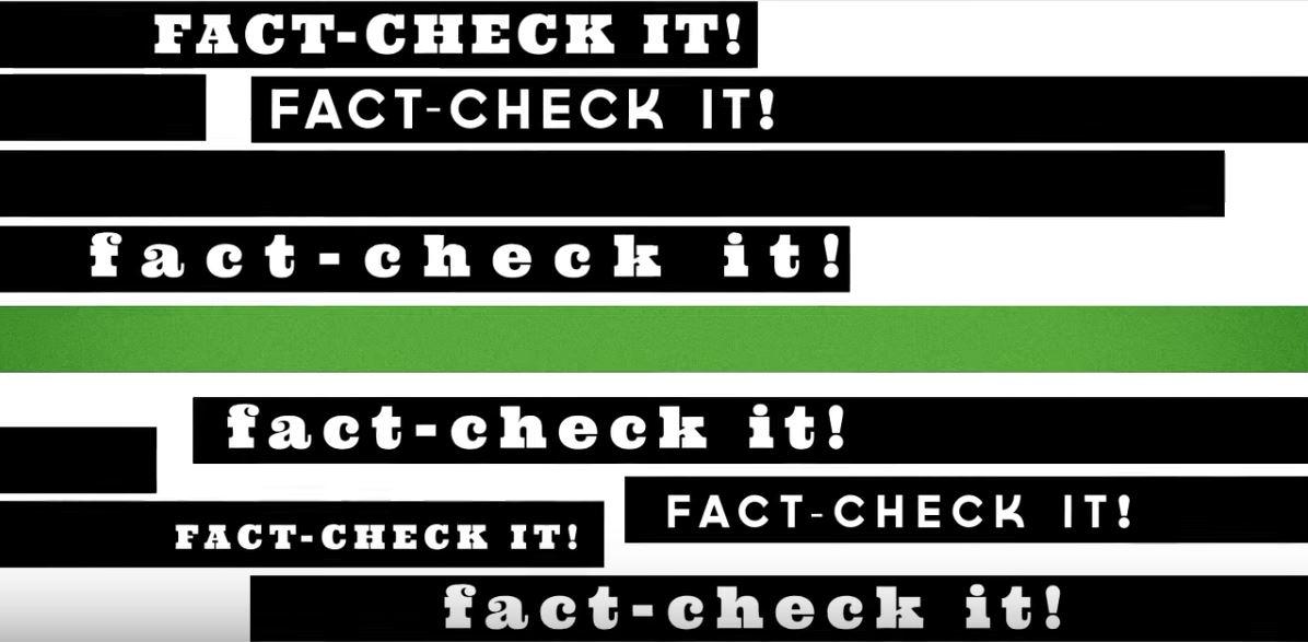 fact check it