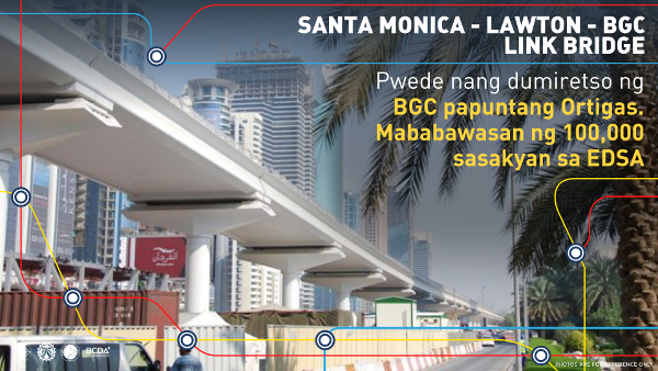 santa monica-lawton-bgc link bridge