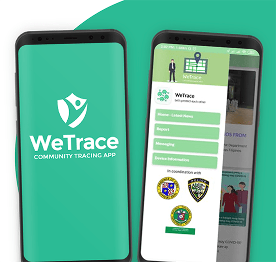 wetrace. contact tracing