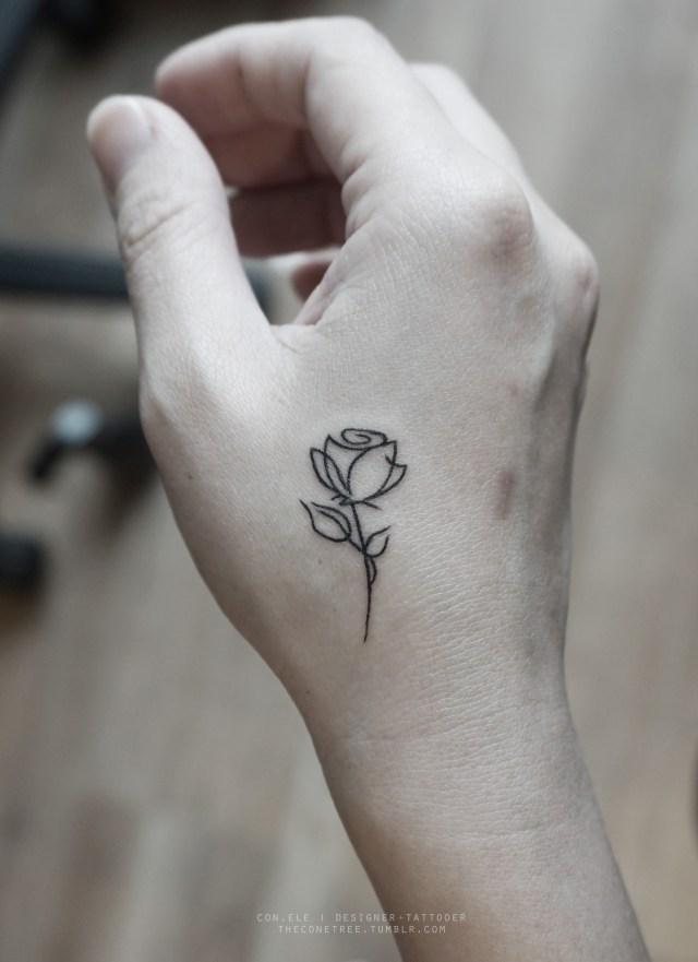 10 Kleine Inspirerende Tattoos