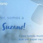 Uma página do papel cumprido pela Suzano