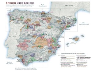 Spanish wine regions, Rueda.