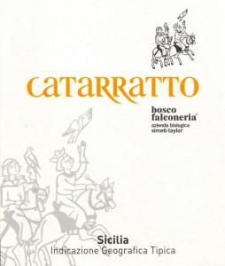 Bosco Catarratto label