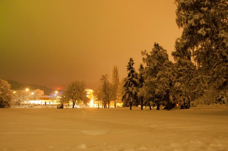 Hotel view from Europa Park / Klagenfurt