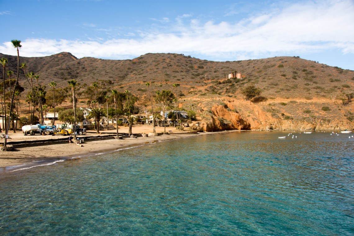 Two harbors on Catalina Island