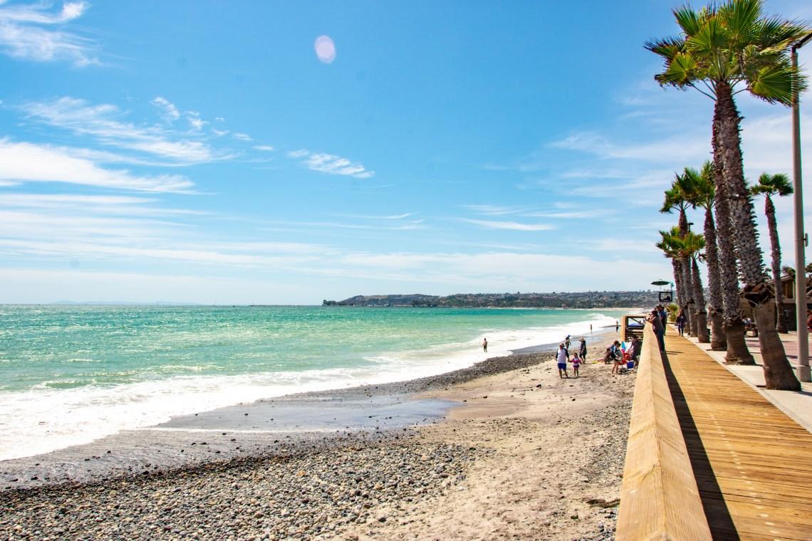 Looking north at Capistrano Beach