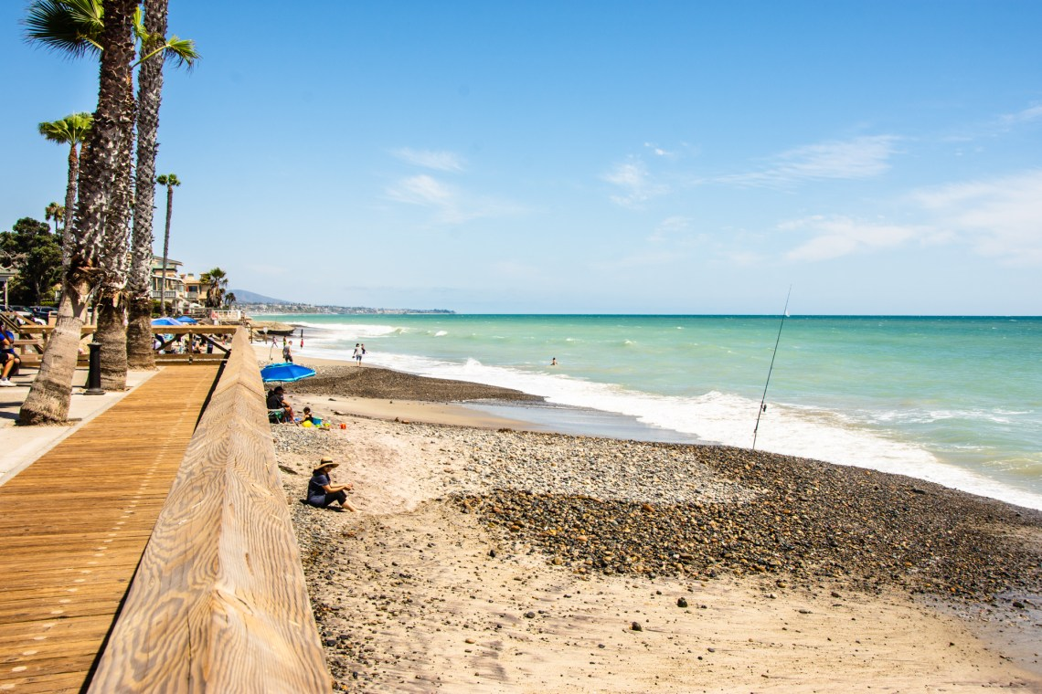 South view at Capistrano Beach