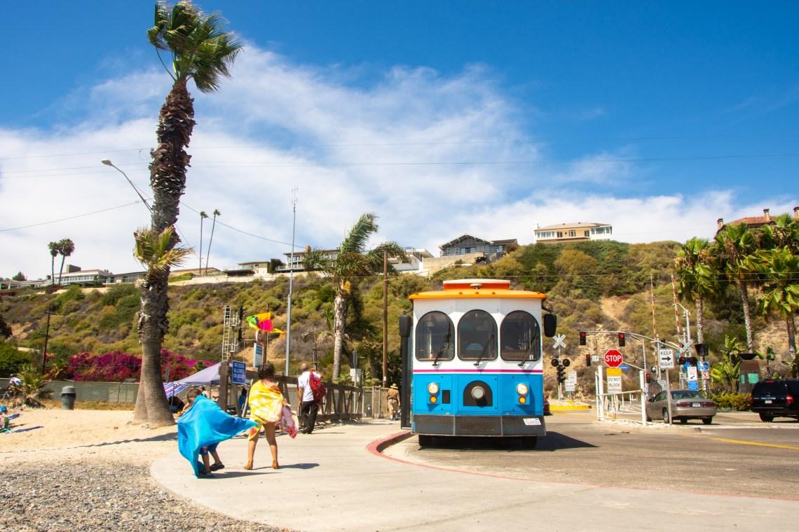 Alternative transportation at Capistrano Beach