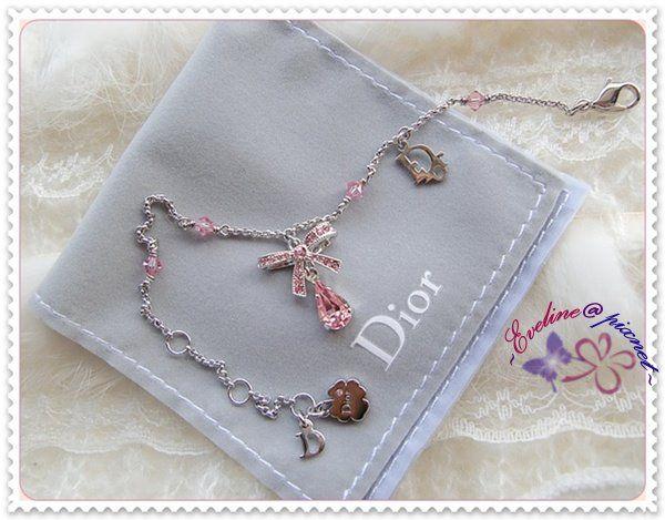 *Dior蝴蝶結粉晶鑽手鍊 - nono的思樂園部落格 - FashionGuide 華人時尚專業評鑑