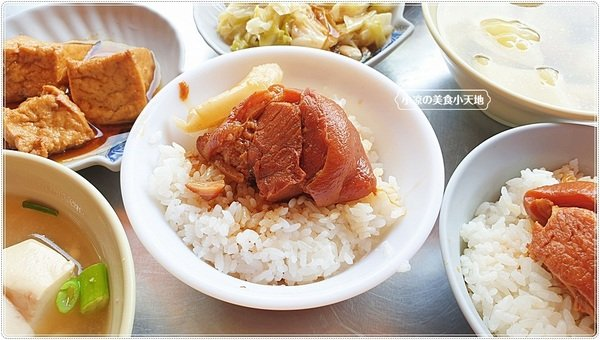 389cf526 8459 4e66 8c3e d3531c241e55 - 阿彬爌肉飯,市場非吃不可傳統早午餐,爌肉飯肥瘦任你挑,只要銅板價就吃飽足!