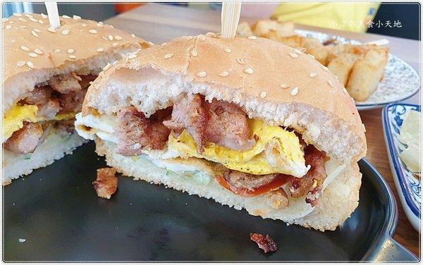 cec87dcf 9b6b 406a a2eb f6507c573022 - 紳士廚房早午餐║大智市場新開幕早午餐,獨創雪花豬肉漢堡、塔香鴨肉蛋餅好吃又特別!!