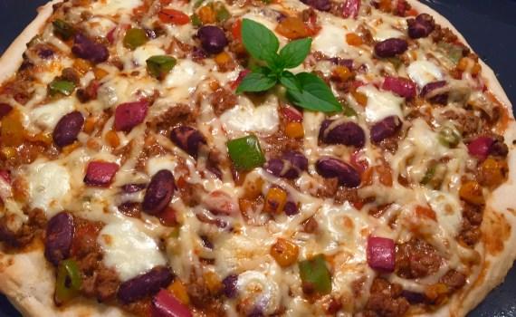 lekko pikantna pizza z meksykańską nutą