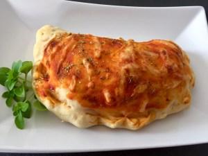 Picca Calzone z szynką i serem