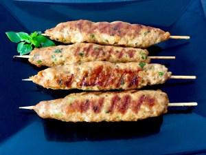 Mielone mięso grilowane, szaszłyki