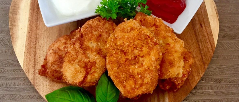 Domowe i zdrowe kurczaki w panierce