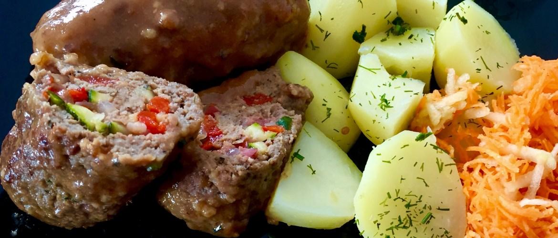 Szybki i pyszny obiad z mięsa i warzyw