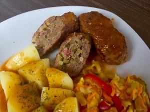 Rolazdki z mięsa mielonego na obiadek