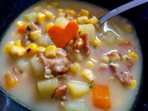 Smaczna zupa z warzywami
