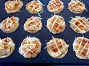 Muffinki jak pizza z ananasem