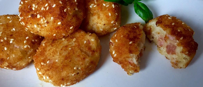 Kuleczki ziemniaczane na obiad