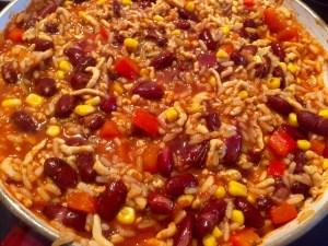 Meksykańskie chili z indyka