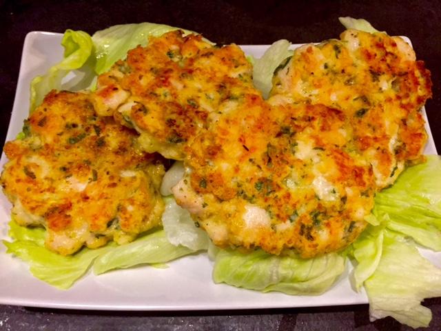 Siekane kotleciki z kurczaka i majonezu