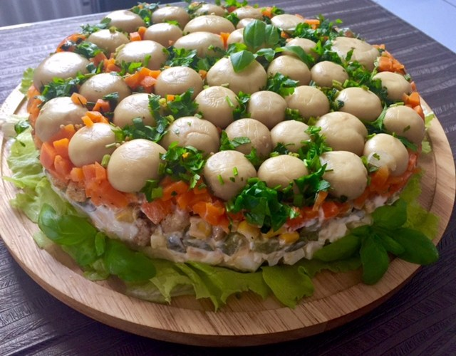 Salatka Lesna Polana Blog Z Apetytem