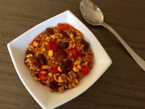 Chili z indykiem, obiad jednogarnkowy