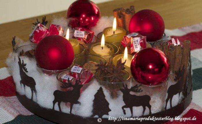 Die letzte Woche von Weihnachtlich dekorieren von Ferrero mit MON CHERI