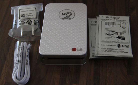 Wir testen PD221 - LG Pocket Photo Printer mit Video