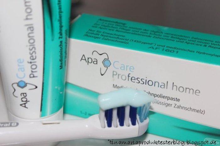 Meine Zähne testen ApaCare - Zahnbalsam mit flüssigem Zahnschmelz
