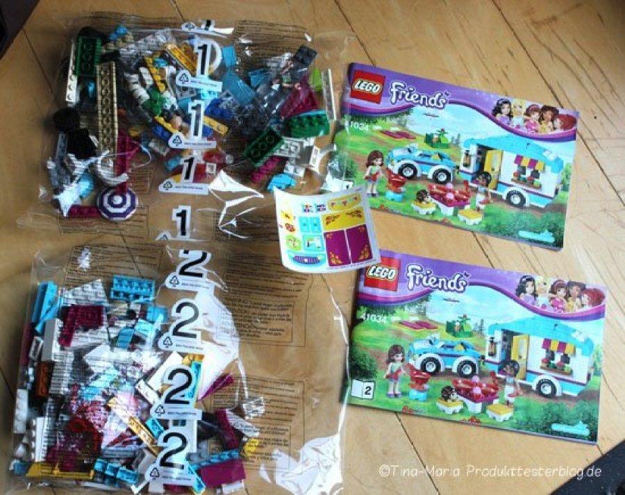 Lego Friends Wohnwagen–Ausflug von mytest