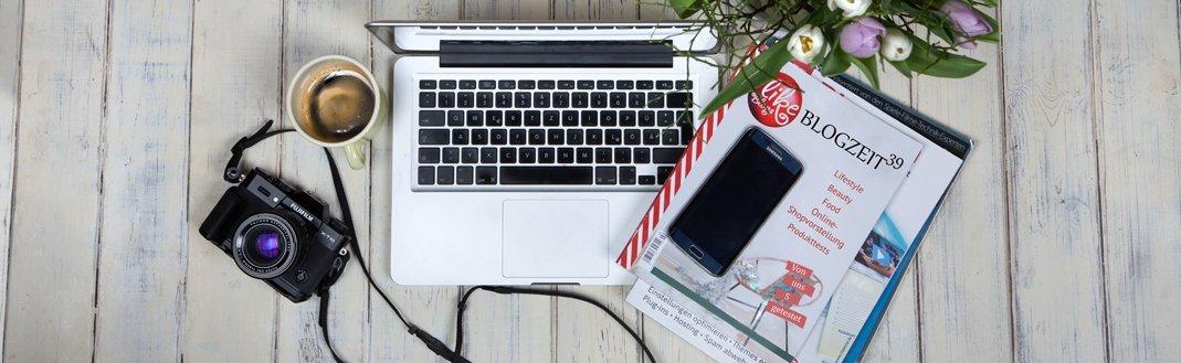 """Tina-Maria Produkttesterblog heißt jetzt """"Blogzeit39"""""""