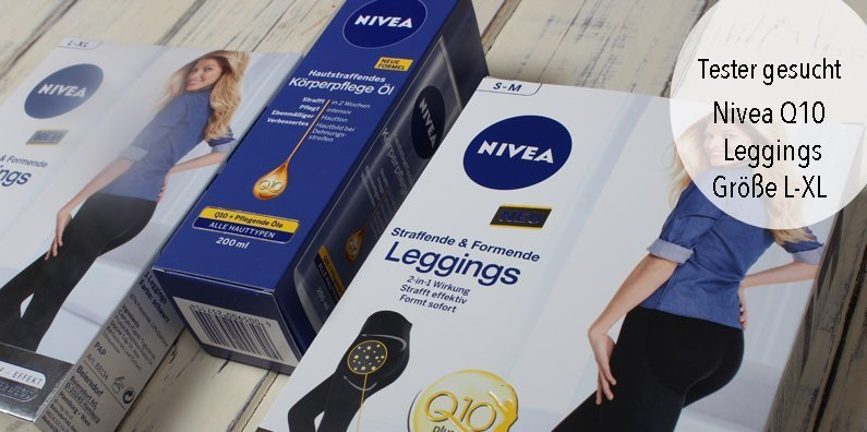 Mittester für die Nivea Q10 Straffende & Formende Leggings