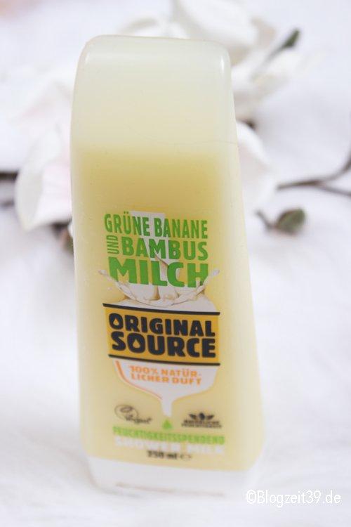 Original Source Shower Milk + Gewinnspiel