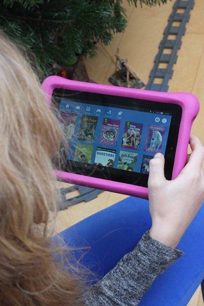 Wenn Kinder sich ein Fire Kids Edition-Tablet vom Christkind wünschen