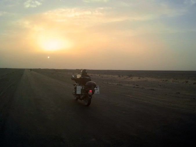 Racing the sun to Taftan