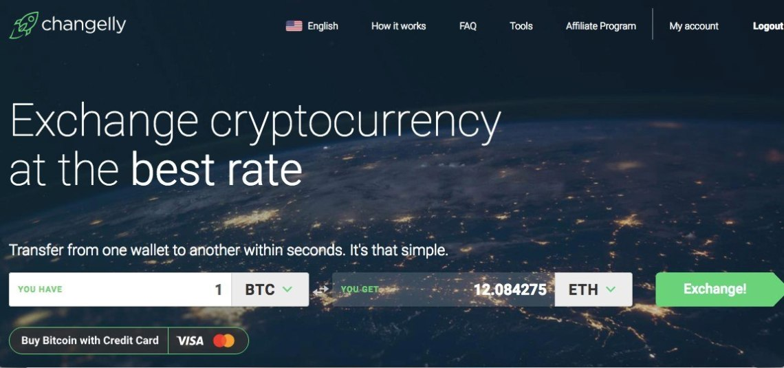 how to sell btc on Changelly exchange
